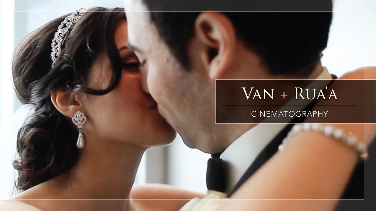 Wedding Cinematography Van and Rua'a Wedding Trailer Video by top Vancouver videographer Life Studios Inc.