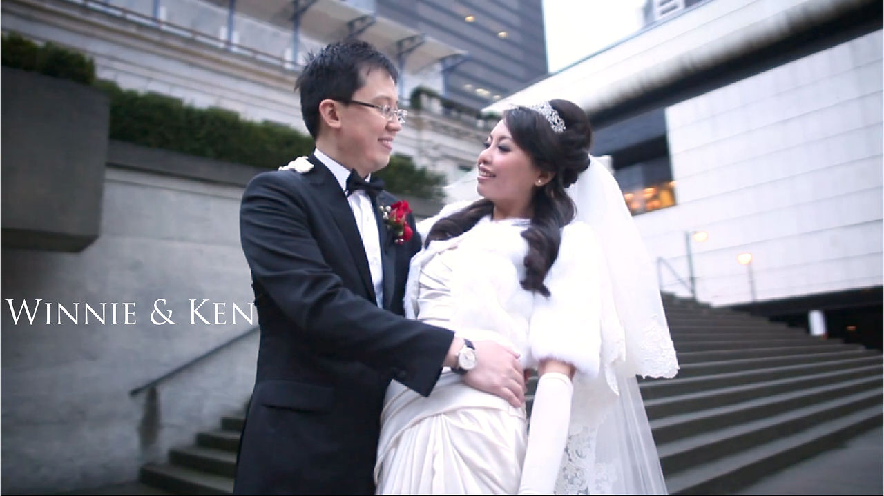 Vancouver Wedding Videographer Winnie and Ken Same Day Edit Video at Four Seasons Hotel by Life Studios Inc.