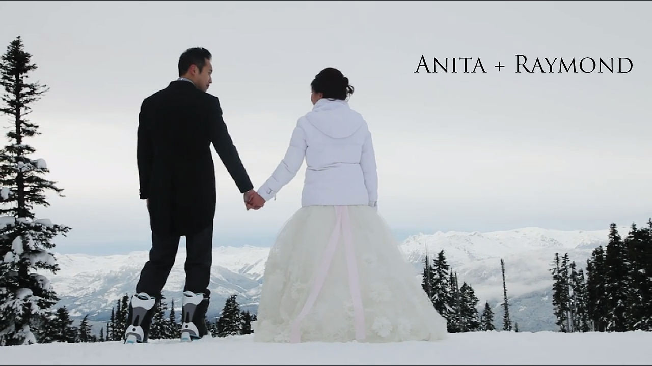 Wedding Videography Anita and Raymond Same Day Edit Video at Nita Lake Lodge by Life Studios Inc.