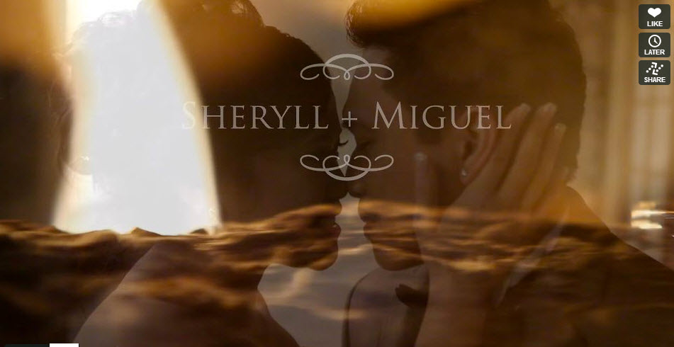 Wedding Cinematographer Sheryll and Miguel Wedding Trailer Video at St Jude's Parish and Westwood Plateau by Life Studios Inc.