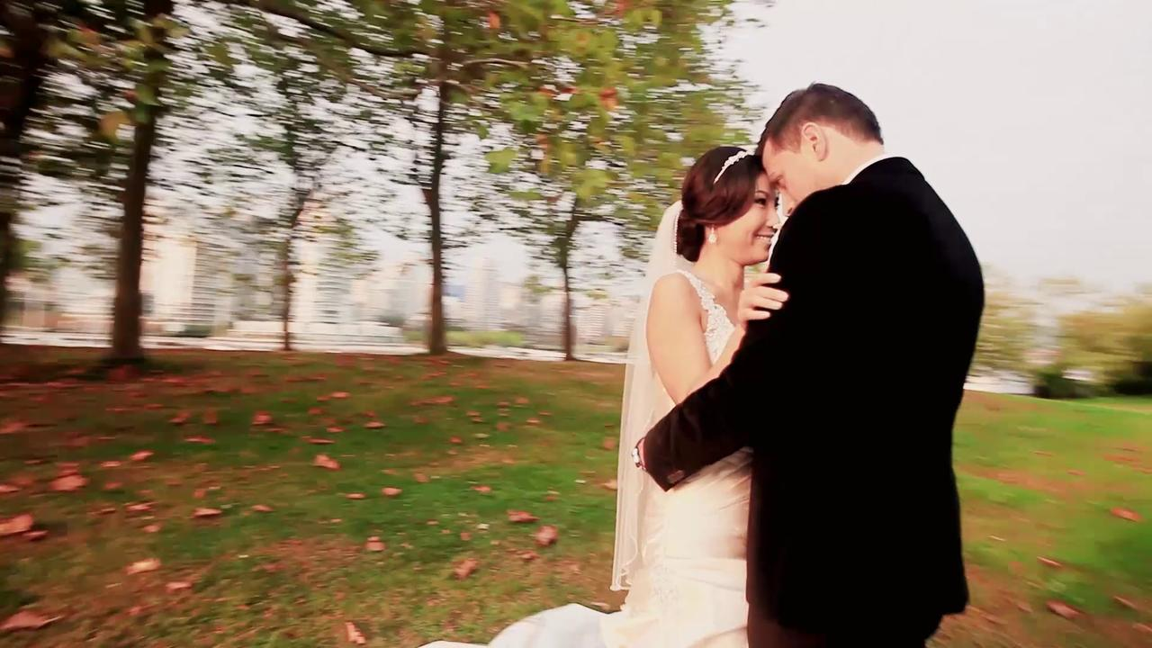 Wedding Videographer Min and Nick Wedding Trailer Video at St George's Greek Orthodox Cathedral by Life Studios Inc