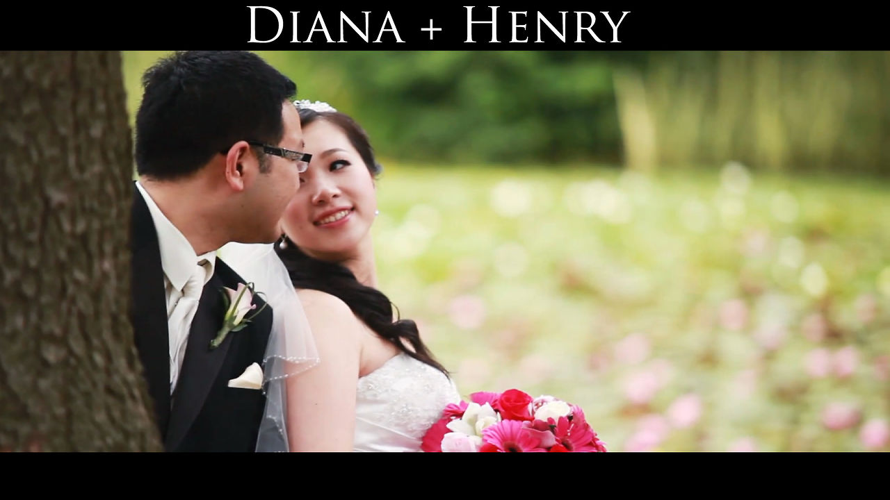 Wedding Videographer Diana and Henry Same Day Edit Video at Van Dusen Gardens by Life Studios Inc.