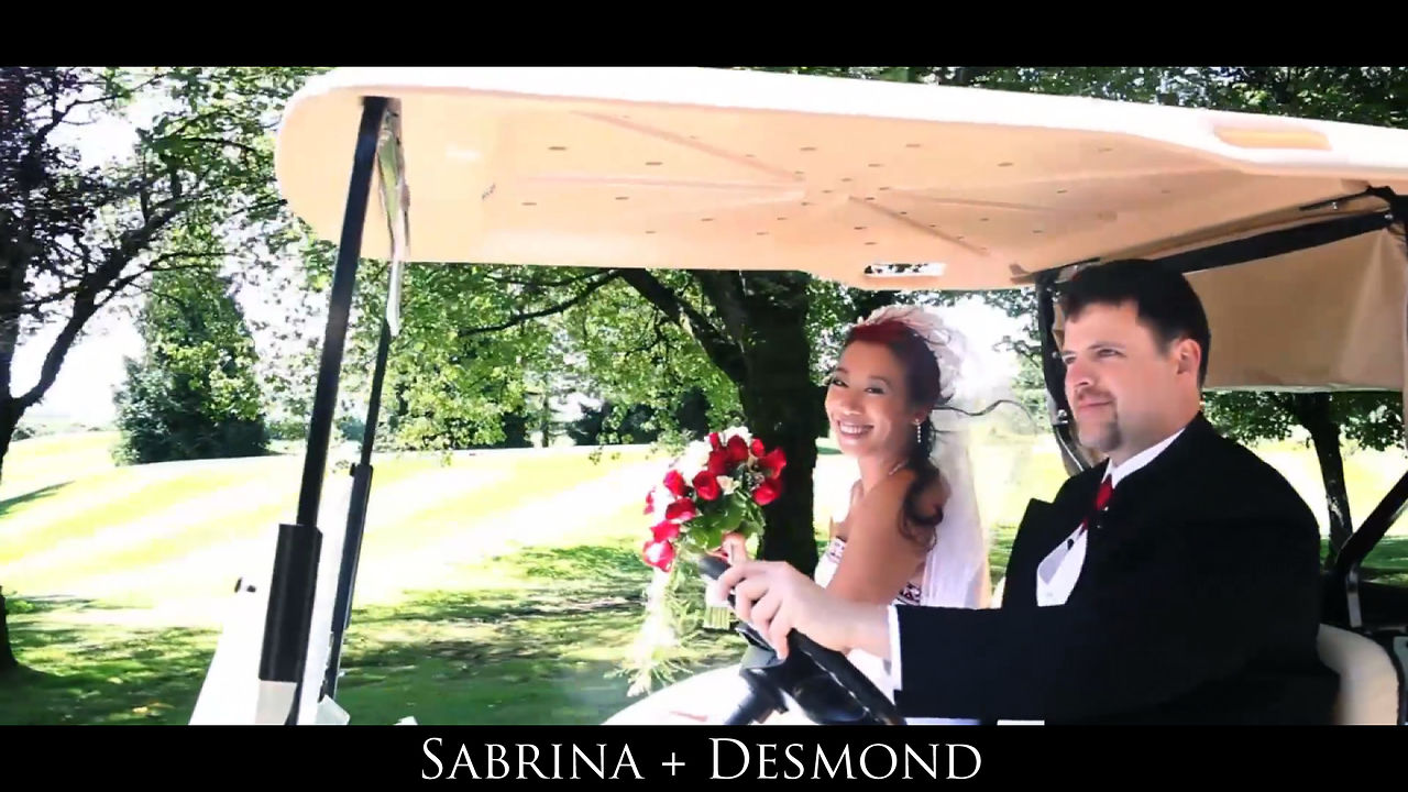 Wedding Cinematography Sabrina and Desmond Same Day Edit Video at Swan-E-Set by Life Studios Inc.