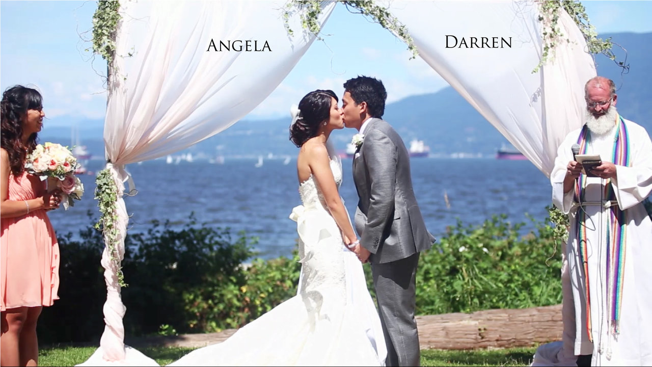 Wedding Videography Angela and Darren Same Day Edit Video at Brock House by Life Studios Inc.