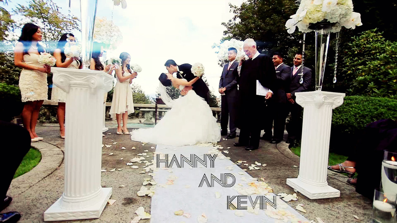Wedding Videographer Hanny and Kevin Same Day Edit Video at Hycroft Manor by Vancouver videographer Life Studios Inc.