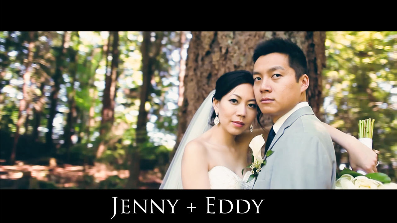 Wedding Cinematographer Jenny and Eddy Same Day Edit Video at Fairmont Pacific Rim by Vancouver videographer Life Studios Inc.