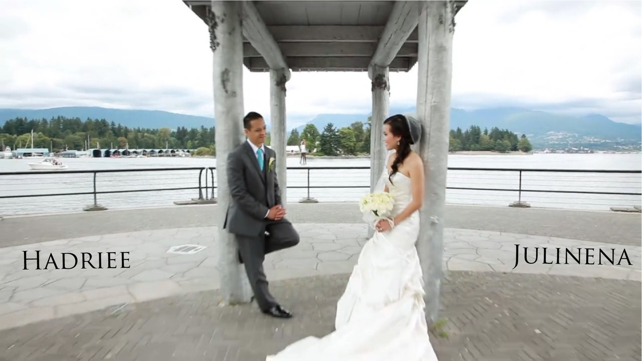 Wedding Cinematography Julinena and Hadriee Same Day Edit Video at University Golf Course by top Vancouver wedding videographer Life Studios Inc.