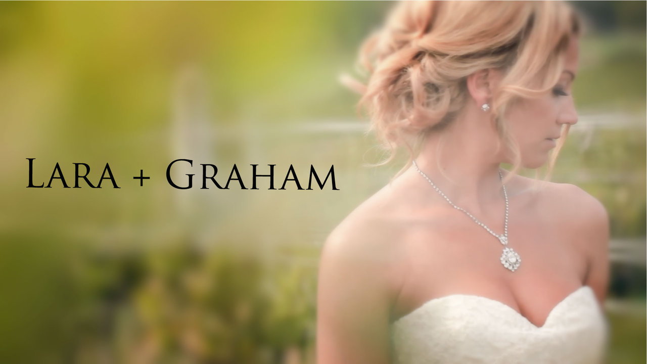 Wedding Videographer Lara and Graham Wedding Trailer Video at La Stella Winery captured by top videographer Life Studios Inc.