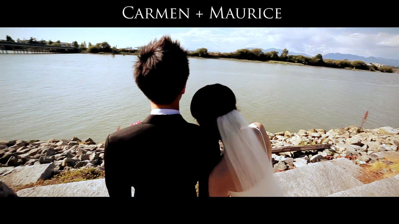 Wedding Videographer Carmen and Maurice Same Day Edit Video at Aberthau by cinematographer Life Studios Inc.