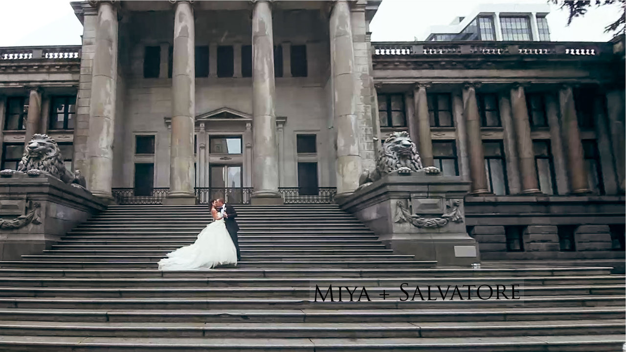 wedding videographer miya and salvatore same day edit video